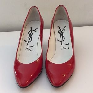 YSL 👠 red heels size 5.5